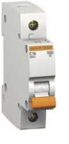 Автоматичен предпазител E60N+ 1P 10A крива С