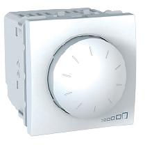 Механизъм димер ротативен UNICA бял