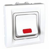 Механизъм ключ двуполюсен СИ UNICA бял 32А