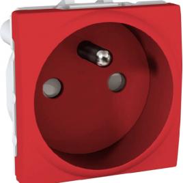 Механизъм контакт UPS UNICA червен