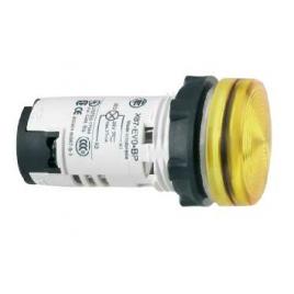 Сигнална лампа жълта със светодиод 230V, IP54