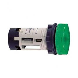 Сигнална лампа зелена със светодиод 24V DC, IP54
