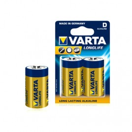 Батерия VARTA R20 D LONGLIFE, 1.5V, алкална