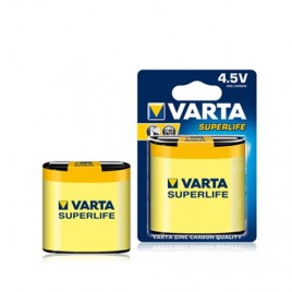 Батерия VARTA 3R12 SUPERLIFE, 4.5V, цинк