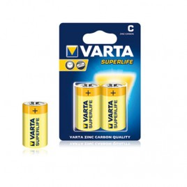 Батерия VARTA R14 C SUPERLIFE, 1.5V, AA, цинк