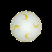Плафониера Лека нощ ф300 бял/жълт