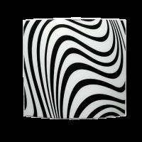Аплик Вълни 360/340, черен/бял