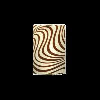Аплик Вълни 150/225, кафяв/екрю