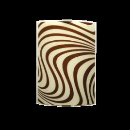 Аплик Вълни 200/290, кафяв/екрю