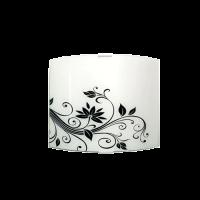 Аплик Жасмин 225/260, черен/бял