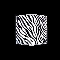 Аплик Зебра 225/260, черен/бял