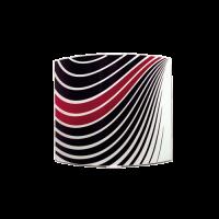 Аплик Инфинити 225/260, бордо/черен/бял