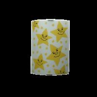 Аплик Звезди 200/290, жълт/бял