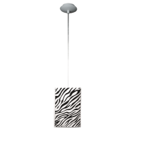 Пендел Зебра 1цa, 150х1000мм, черен/бял