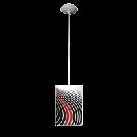Пендел Инфинити 1цa, 150х1000мм, бордо/черен/бял