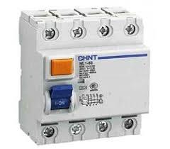Дефектно токова защита без предпазител 4P 25A, 100ma, AC type