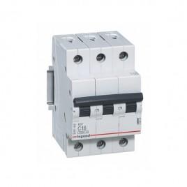 Автоматичен прекъсвач RX3 3P 16A, 6kA, Legrand