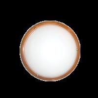 Плафониера дърво кръг (2 фасунги) круша ф400