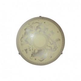 Плафониера Олимп крем (2 фасунги) ф400