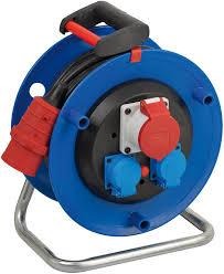 Макара 16A/400V,16A/220V, IP44, термична защита с индикатор, кабел H05VV-F 5х1.5, 30м