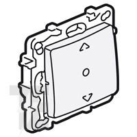 Ключ за щори три позиции за директен контрол над мотора, Niloe, крем