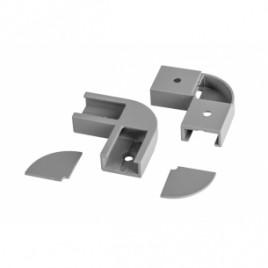 Комплект 2бр. ъглови конектори за профил AP207