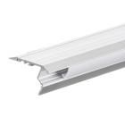 Алуминиев профил за LED лента, за стъпала, 2м