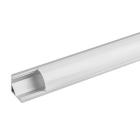 Алуминиев профил за LED лента, ъглов, 2м