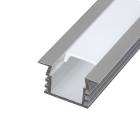 Алуминиев профил за LED лента, дълбок, за вграждане, 2м