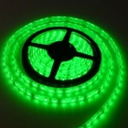 LED лента SMD 3528, зелена, водоустойчива, IP65, 12V DC, 60LED/m, 5m, 4.8W/m
