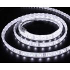 LED лента SMD 2835, бяла, водоустойчива, IP65, 12V DC, 120LED/m, 5m, 9.6W/m