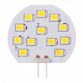 LED крушка G4, 12V/DC, 2700K, 2W, 2бр./блистер