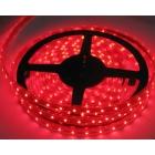 LED лента SMD 3528, червена, водоустойчива, IP65, 12V DC, 60LED/m, 5m, 4.8W/m