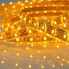 LED лента SMD 3528, жълта, водоустойчива, IP65, 12V DC, 60LED/m, 5m, 4.8W/m