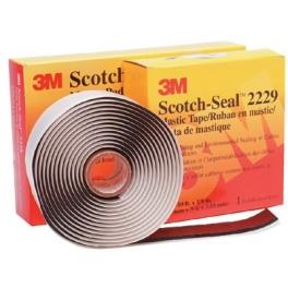 Каучукова лента 3M Scotch 2229 3м/25мм черна