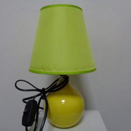 Настолна лампа жълта