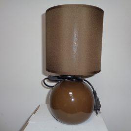 Настолна лампа кафява