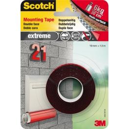 3M Scotch. Двустранно монтажна лента VHB EXTREME силна за външно 1.5м/19мм