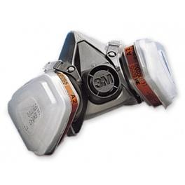 6002/3M Комплект респираторна полу-маска с филтри A2P2