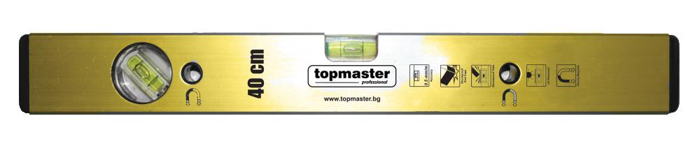 Нивелир 100см алуминиев с магнит, Topmaster