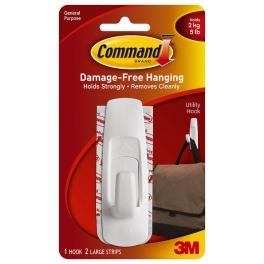 3M Command Закачалка голяма бяла
