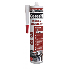 Ceresit CS28 Термосутойчив силикон 300мм червен