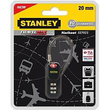 Катинар за пътуване Travel MAXTwikest series 20mm със стоманено въже, Stanley