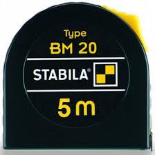 Ролетка BM 20, 5m/19mm, Stabila