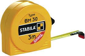 Ролетка BM 30, 2m/13mm, Stabila