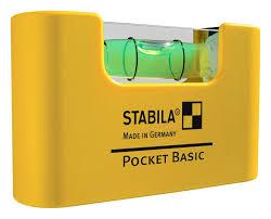 Нивелир мини, Pocket Basic, 7см, Stabila