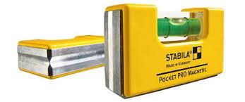 Нивелир магнитен мини, Pocket Pro Magnetic, 7см, Stabila