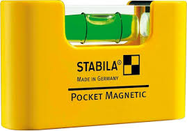 Нивелир магнитен мини, Pocket Magnetic, 7см, Stabila