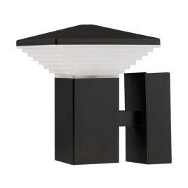 LED фасадно осветително тяло, графит, куб, 220V, IP65, неутрална светлина 4200K, 6W