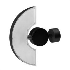 LED фасадно осветително тяло, графит, 220V, IP65, подвижно, неутална светлина 4200K, 6W